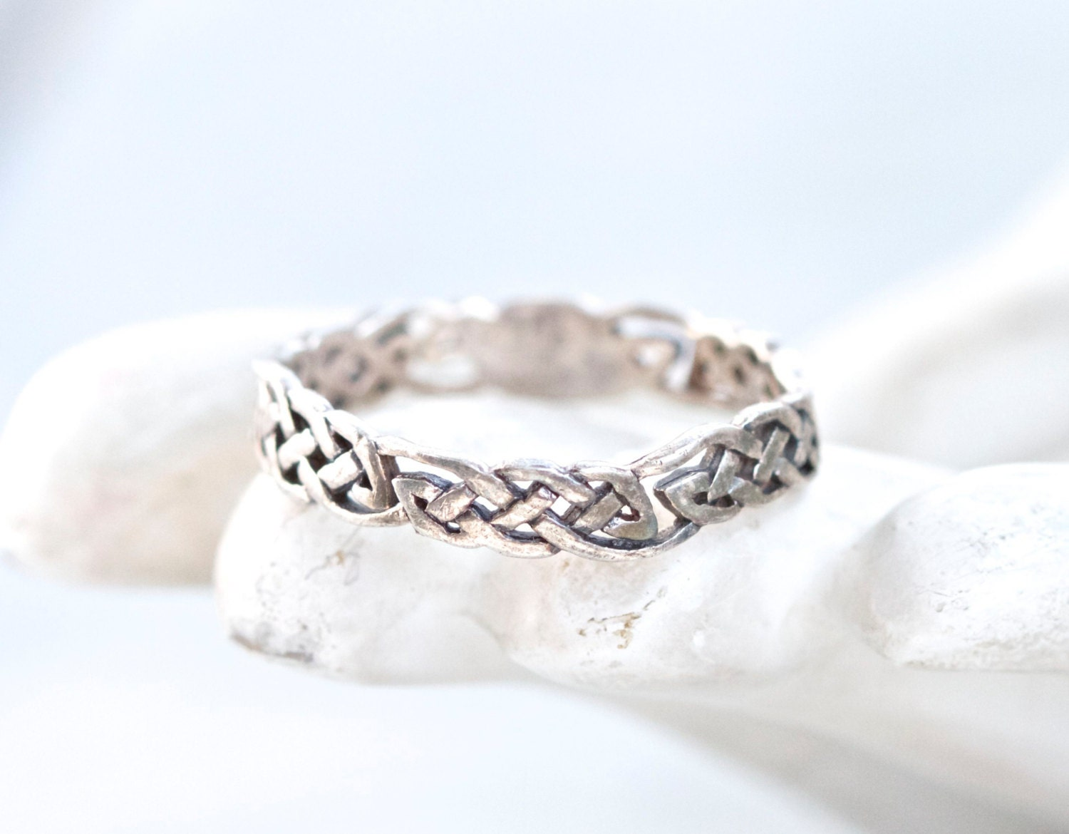 celtic filigree ring antique s wedding band ring by