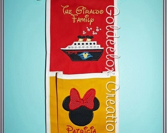 1 Pocket Fish Extenders for Disney Cruises Custom Orders Only