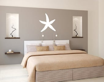 Starfish Vinyl Wall Decal Nautical Beach Theme Decals 22521