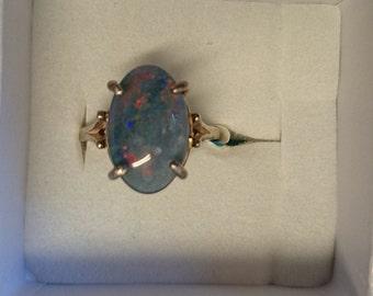 Australian Opal Rings