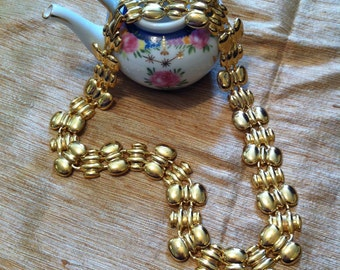 """Jewelry, 17"""" Chain of Gold Links, Fashion Necklace,"""