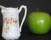 Antique Victorian Hand Painted Miniature Pitcher