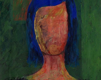 Original Painting - 'Tanja' by Peter Mack