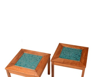 "John Keal for Brown Saltman ""Constellation"" End Tables"
