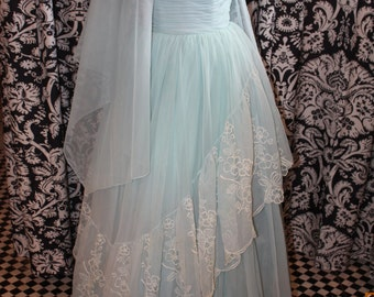 1950's Special Occasion Gown  Item #164-FG
