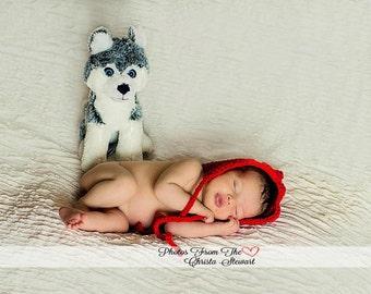 CROCHET HAT PATTERN: Newborn Pixie Bonnet, bonnet pattern, crochet bonnet pattern, diy baby hat  baby bonnet pattern, crochet pixie bonnet