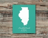 Where We Tied the Knot, Valentine's Day Gift - Print by MJDandSupply