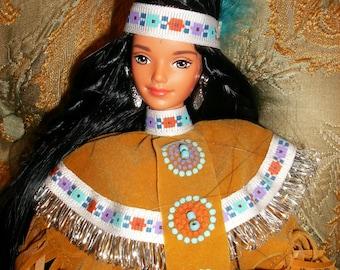 Sale was 40 Native american barbie