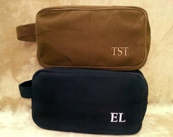 Travel Toiletry Bag Personalized Case Men Wedding Gifts