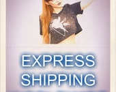 EXPRESS SHIPPING WORLDWIDE from 1 to 10 tshirts in the same package