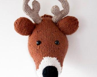 PDF Only - Giant Mr. Deer Trophy Taxidermy Head