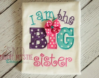 I am the big sister-big sister shirts-big sister onesies