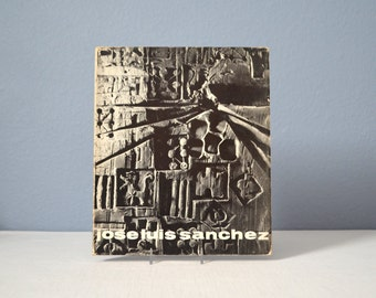 Vintage Brutalist Artist Jose Luis Sanchez Monograph