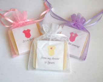 Baby Girl Onsies Soap Favors Baby Shower