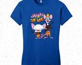 Firefly T-shirt - Pinky and the Brain T-shirt - women's