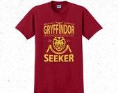 Harry Potter t-shirt men's - Gryffindor Quidditch tshirt - Sports team logo