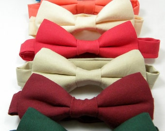 Wedding Bowtie. 50+ Colors. Sizes Infant-Adult. Groomsmen Bowtie. Ring Bearer Bowtie. Chambelan Bowtie. Best Man Bowtie