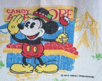 Vintage Disney Bath Towel