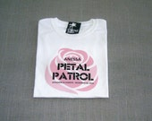 Petal Patrol Personalized Flower Girl Wedding T-Shirt
