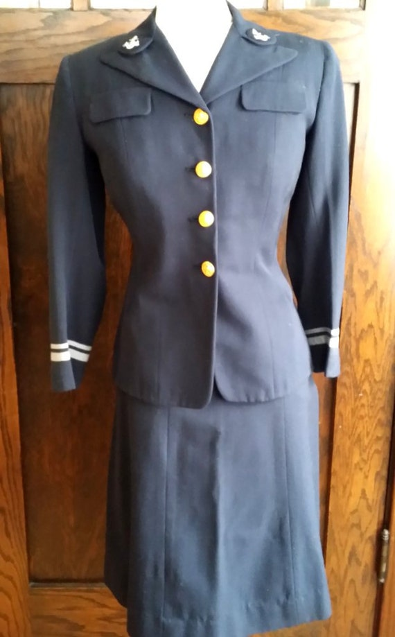 Perfect Navy Dress Uniforms For Women Ww2 Navy Ladies 1940s Fancy