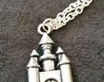 Castle Necklace, Fairytale Necklace, Renaissance Jewelry