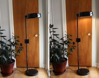 Industrial Medical Floor Lamp Mid Century Modern Swivel Shade Dual Light