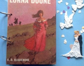 handmade journals - junk journal - art journal - smash book - wedding journal - scrapbooking - eco journal - recycled papers - Lorna