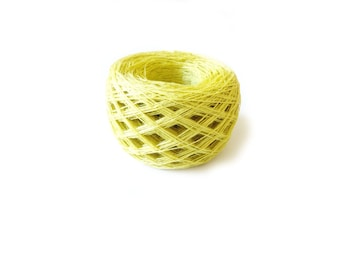 Linen yarn, linen thread, linen natural 2 ply 3 ply yarn, Lithuanian linen, sulfur yarn, thin thick yarn
