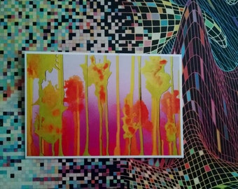 P54 - Abstract Postcrossing Postcards for Sale by Artist