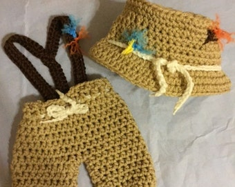Items similar to Crochet Newborn Baby Fisherman Pattern ...