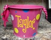 5 QT Personalized Bucket
