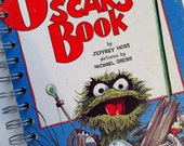 Vintage Oscar's Book Little Golden Book Recycled Journal Notebook