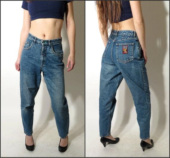 vintage lee gossip 80er jahre blue jeans gr e 31 31 hoch. Black Bedroom Furniture Sets. Home Design Ideas
