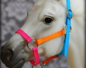 Round Ring Halter With Lead Rope for Breyer or Model Horse - 36 Color Choices!