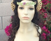 Professional Lace Front Padme Queen Flower Amidala Star Wars Couture Wig