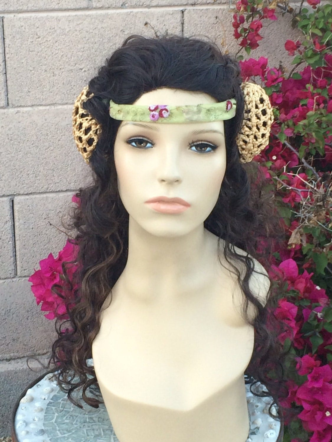 Padme Queen Flower Amidala Star Wars Professional Lace Front