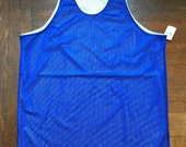 vintage russell athletic reversible mesh jersey tank size XL