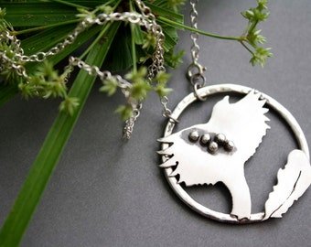 Animal necklace, sterling silver eagle necklace, The Feather Is The Language of The Soul, Totem necklace, quote necklace
