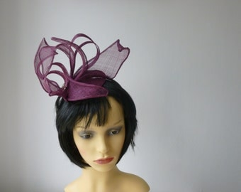 Red Flame inspired Fascinator sale price