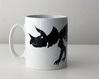 Triceratops dinosaur mug Jurassic Park mug Jurassic world