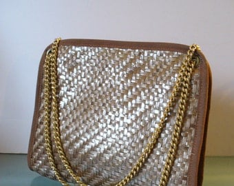 Made in Italy Straw  Shoulder Bag