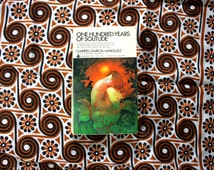 One Hundred Years Of Solitude By Gabriel Garcia Marquez 1970s Vintage Paperback Book
