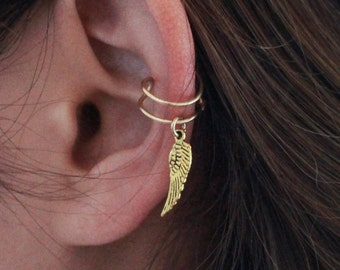 Wing Ear Cuff - gold or silver