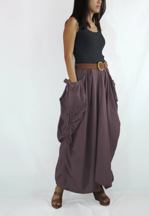 items similar to skirt big pockets with bow