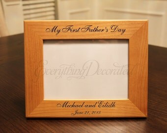 Fathers Day, First Fathers Day, Fathers Day Gift, Personalized Fathers Gifts, First Fathers Day Gift, Fathers Day Gifts from Kids, Frame
