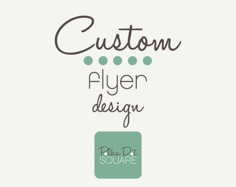 Flyer Advertisement Custom design Printable