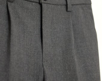 Boys grey trousers Baby pants Toddler boy pants Baby boy pants with pockets Infant pants with zipper Toddler ring bearer outfit grey pants