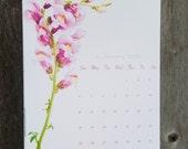 2016 Flower Calendar - Large Wall Calendar 2016