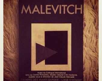 Malevitch, Colloque International Kasimir Malevitch, Centre Pompidou.