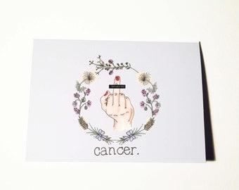 F Cancer Survivor Card